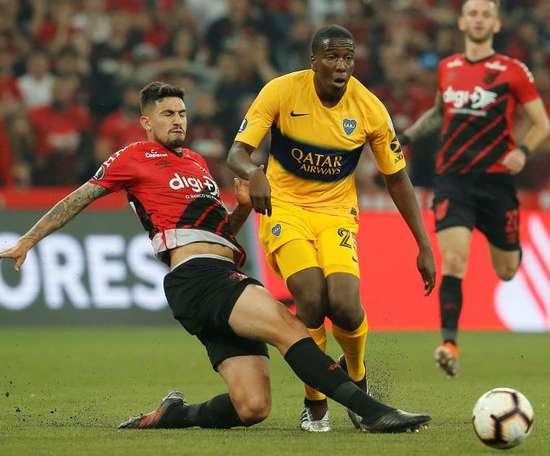 Pedro Henrique voltará a vestir a camisa do Athletico Paranaense. EFE/ Hedeson Alves