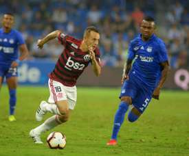 Rafinha sofre fratura na face. EFE/ Marcos Pin/Archivo