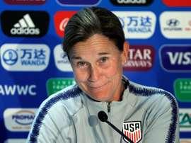Jill Ellis ha anunciado que dejará de ser seleccionadora de EE.UU. EFE/Archivo
