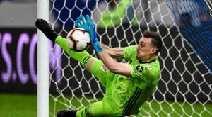 L'objectif de River Plate, c'est le 'triplé'. EFE/Yuri Edmundo