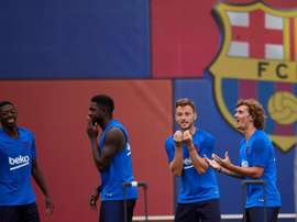 Dembele is now reportedly the final obstacle for Neymar to come back. EFE