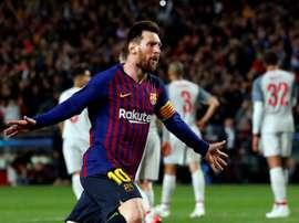 Julio Alberto elogiou o nível de Leo Messi. EFE/Alberto Estévez/Archivo