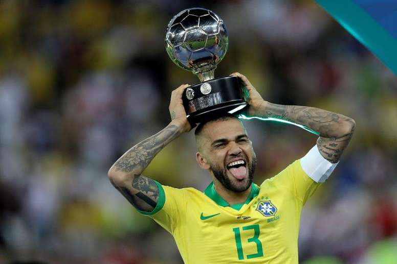 Brasil ganó la Copa América de 2019. EFE
