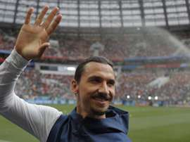 A Fiorentina quer Ibra na Itália, embora o presidente o descarte no clube. EFE/Sergei Ilnitsky
