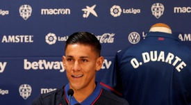 Radoja y Duarte, fuera de lista para recibir al Villarreal. EFE