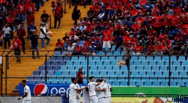 Positivo en clostebol de Contreras, jugador de Comunicaciones. EFE/Esteban Biba/Archivo