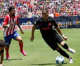 Simeone continues to leave out Hector Herrera. EFE