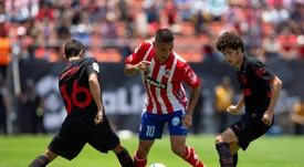 El Atlético quiere mandar a Sanabria al Zaragoza. EFE/Archivo