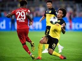 A apertada agenda da Bundesliga. EFE/EPA/SASCHA STEINBACH