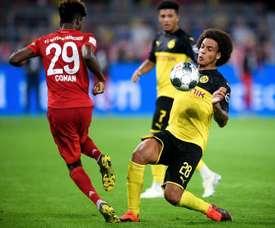 Borussia fica sem Witsel por lesão. AFP