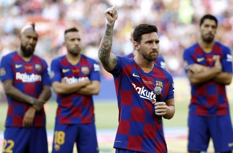 Messi para sempre culé. EFE