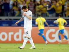 La CONMEBOL reconoce el mal uso del VAR en el Brasil-Argentina. EFE/Antonio Lacerda
