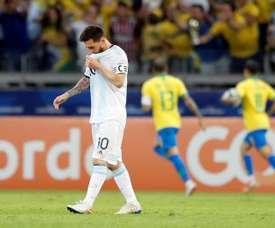 L'attaquant du Barça forfait contre l'Allemagne. EFE