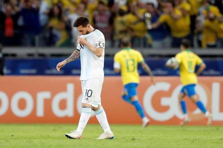 Ustari salió a defender a Messi. EFE/Archivo