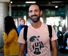Juanfran est arrivé au Brésil. EFE