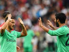 Hazard's first goal brings Madrid victory. EFE
