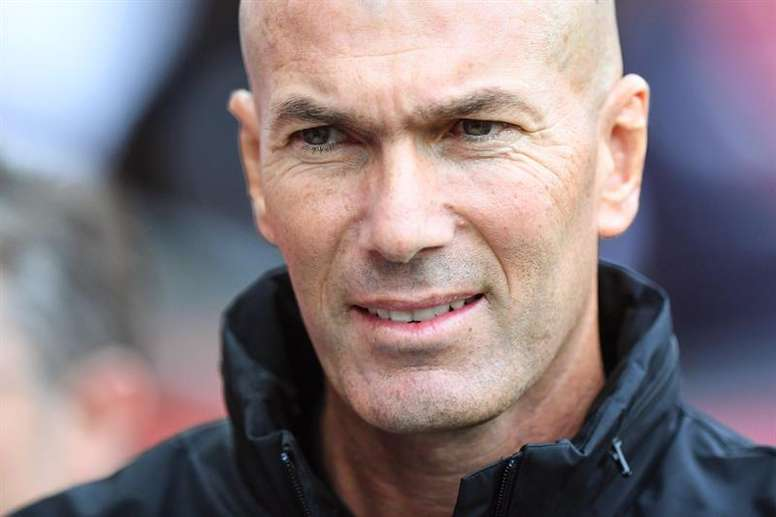 Zidane: La Liga is the ultimate aim. EFE