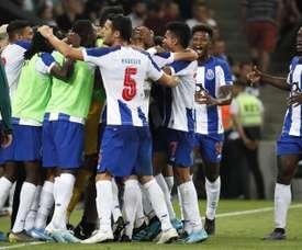 Porto x Young Boys pelo grupo G da Liga Europa. EFE/Yuri Kochetkov