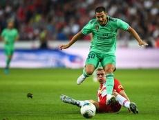 El Real Madrid mostró una mejor cara ante el Salzburgo. EFE