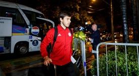 Óscar y Ángel Romero ya están en Argentina, listos para firmar. EFE