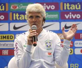 Sundhage terá estreia contra a Argentina. EFE/Marcelo Sayão/Archivo