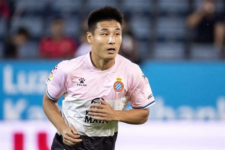 Más allá del ámbito deportivo, Wu Lei también pretende dejar su huella. EFE