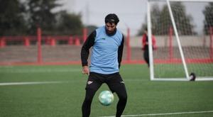 Abreu, uno de los protagonistas de la nueva fecha uruguaya. EFE