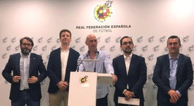 RFEF show preventative methods against sexual abuse. EFE