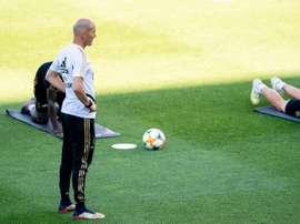 The unwavering faith of Zidane. EFE