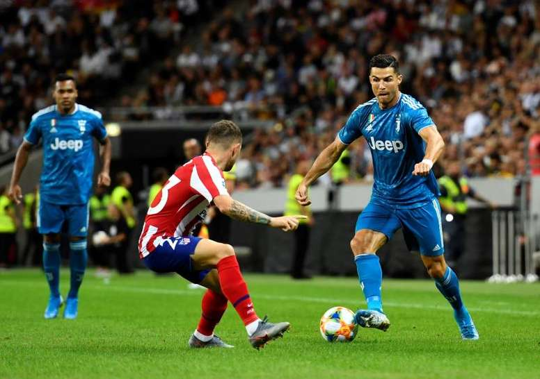 L'Atletico Madrid ha battuto la Juventus. EFE/AFP