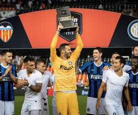 L'Inter cherche un héritier. AFP