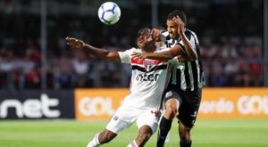 Sao Paulo, Flamengo y Mineiro imponen su ley en casa. EFE/ Sebastião Moreira