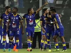 Delfín sorprende a Católica y Guayaquil City golea en casa. EFE/Mario Ruiz/Archivo