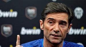 'Je ne peux pas envisager que Rodrigo quitte le club sans qu'un nouveau renfort arrive'. EFE
