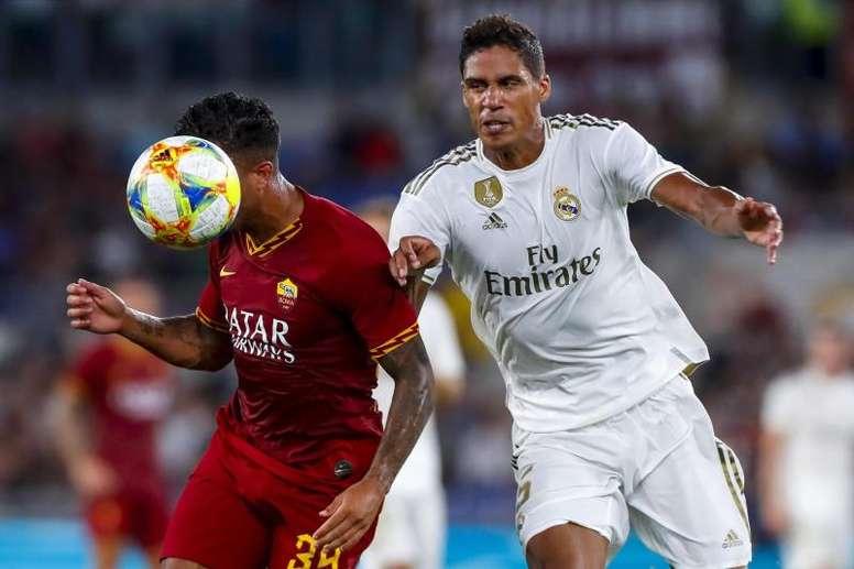 El Madrid perdió en los penaltis ante la Roma. AFP