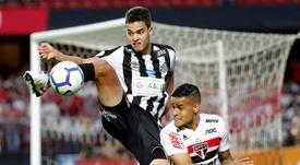 Santos sigue líder y Vasco escapa de la quema. EFE/Sebastião Moreira
