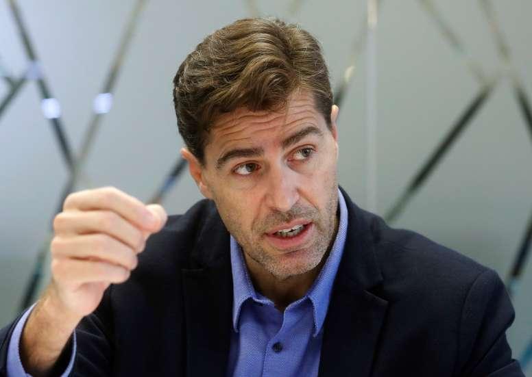 El presidente de la Federación Española de Atletismo, Raúl Chapado. EFE/Ángel Díaz/Archivo