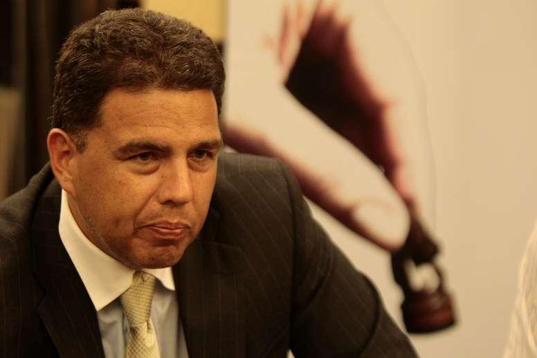 En la imagen el presidente del Comité Olímpico Ecuatoriano (COE), Augusto Morán. EFE/José Jácome/Archivo