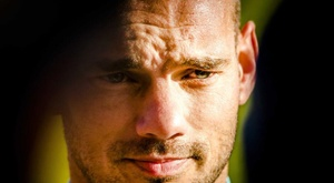 Wesley Sneijder made a controversial comment regarding his talents. EFE