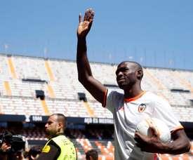 Le nouveau joueur de Valence, Eliaquim Mangala. EFE/Archivo