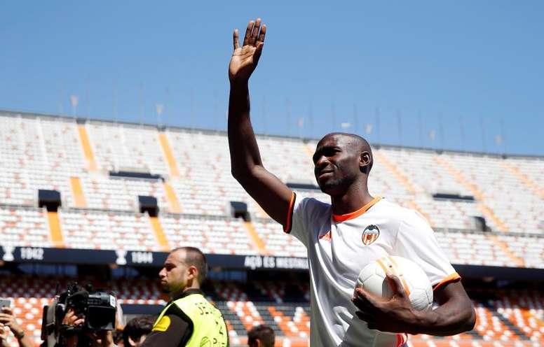 Mangala ya entrenó con el Valencia. EFE