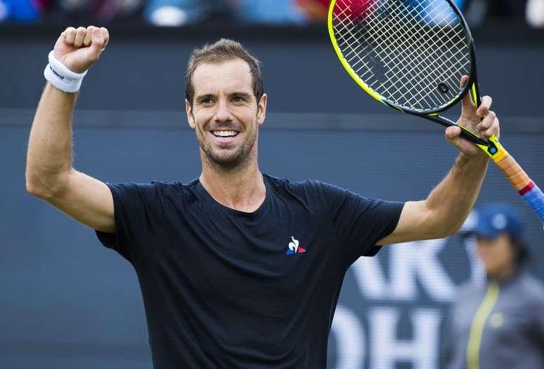 En la imagen, el tenista francés Richard Gasquet. EFE/Koen Suyk/Archivo