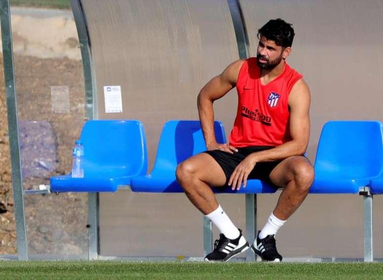 Diego Costa est blessé. EFE