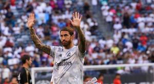 Ramos cree que el Madrid es el único perjudicado por el horario del 'Clásico'. EFE/Kena Betancur