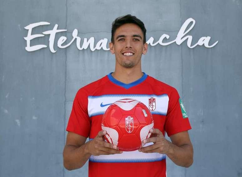Martínez solo contemplaba jugar en el Granada. EFE