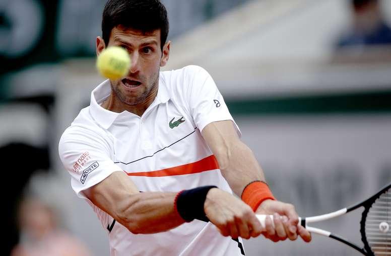 Novak Djokovic, tenista serbio. EFE/EPA/YOAN VALAT/ARCHIVO