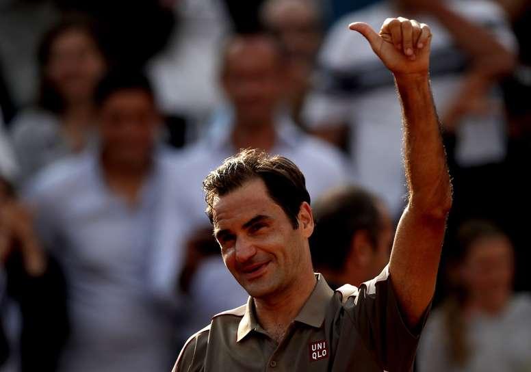 En la imagen, el tenista suizo Roger Federer. EFE/Yoan Valat/Archivo