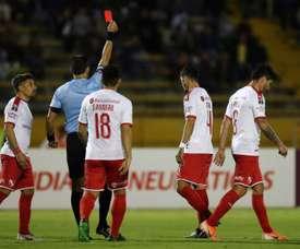 Figal está perto de ir à MLS. EFE/José Jácome