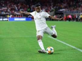 Rodrygo, du Bernabéu à l'Alfredo Di Stéfano en cinq heures. EFE