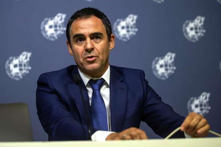Andreu Camps se mostró tajante. EFE